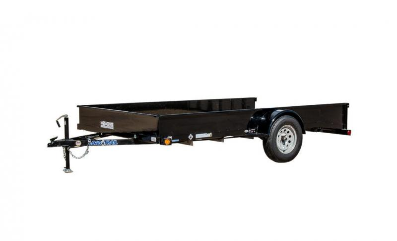 2017 Load Trail Load Trailer 77x12 Single Axle Utility Trailer Utility Trailer