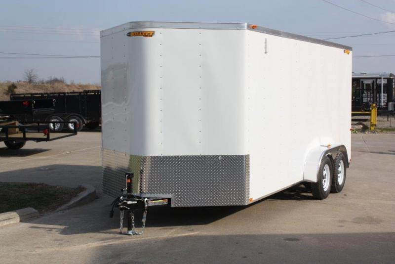2017 Doolittle Trailer Mfg 7x14 Doolittle Cargo Trailer w/Ramp Door Enclosed Cargo Trailer/Black