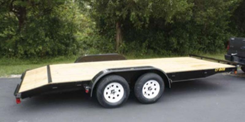 2019 Doolittle Trailer Mfg 84x18 CF Car Trailer Utility Trailer
