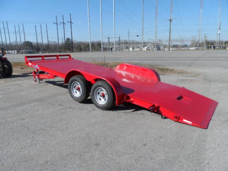 2019 Hawke Trailers equipment 82x20 10k Hydraulic tilt deck Equipment Trailer