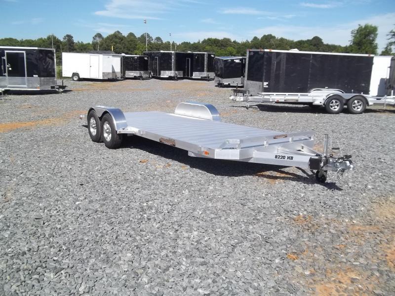 2019 Aluma 8220 H carhauler trailer