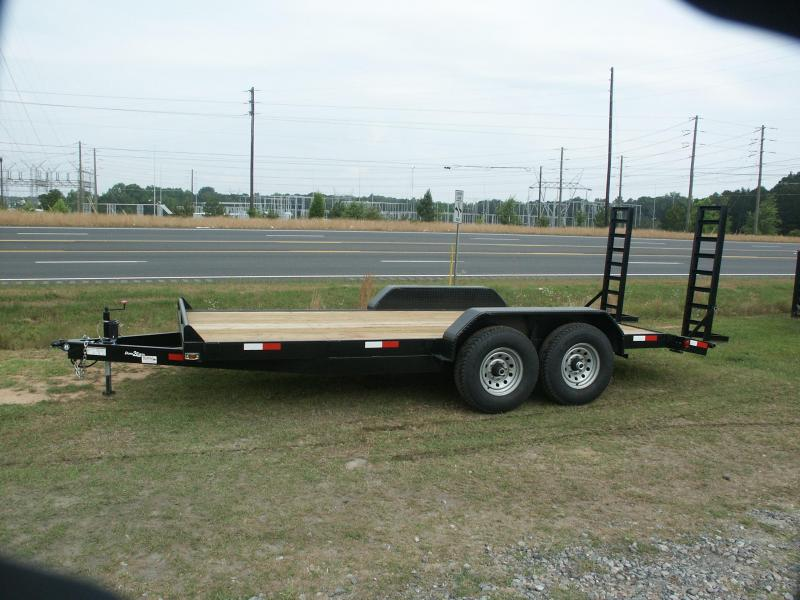 2019 Down 2 Earth Trailers 82x20 14k Equipment Trailer