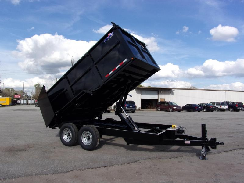 2019 Hawke 7x14 48 high side 14k Low Pro Dump Trailer w Tarp