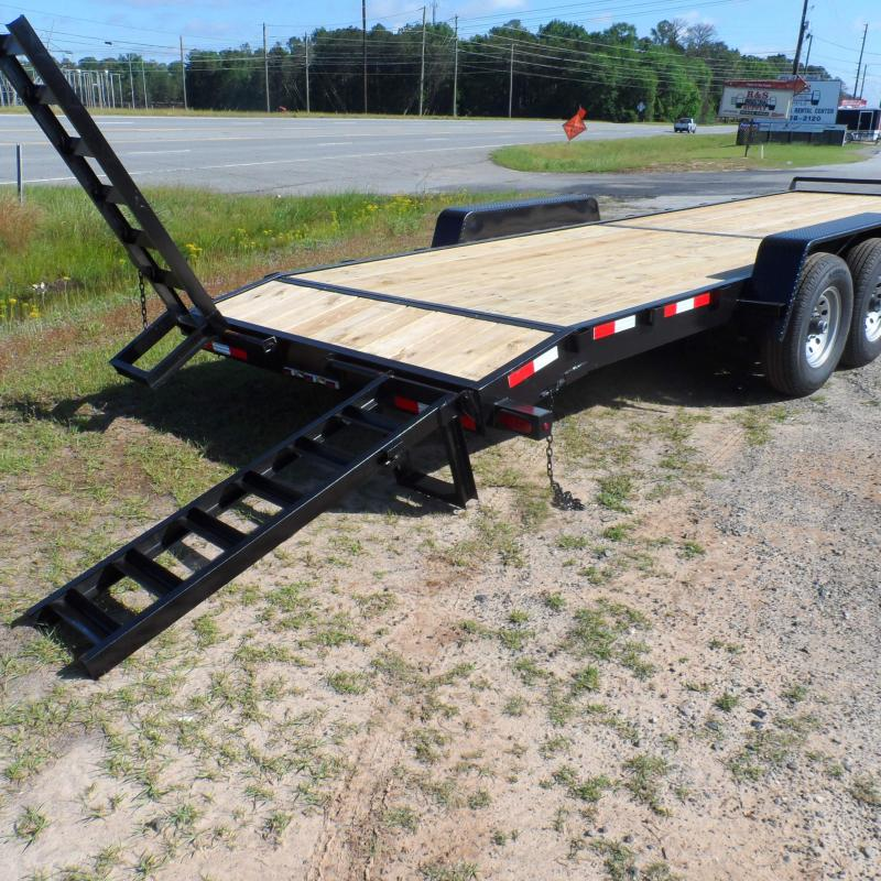 2019 Down 2 Earth Trailers 82x24 14k Equipment Trailer