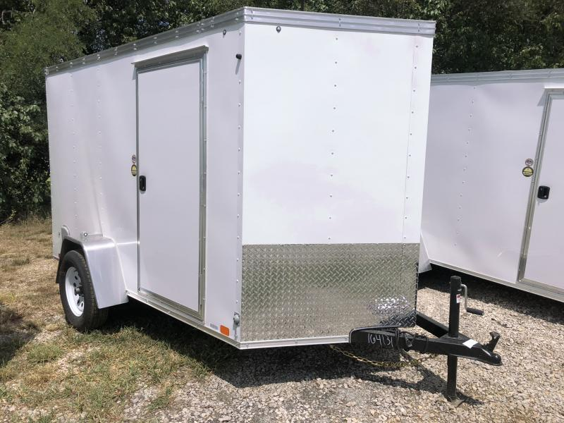 2018 UNITED 6 X 10 X 6 ENCLOSED CARGO TRAILER