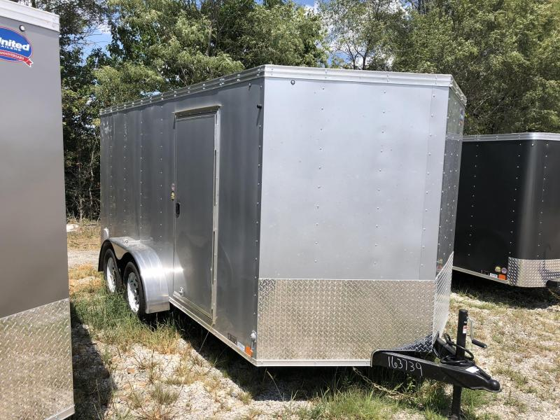 2018 UNITED 7 X 14 X 6 ENCLOSED CARGO TRAILER