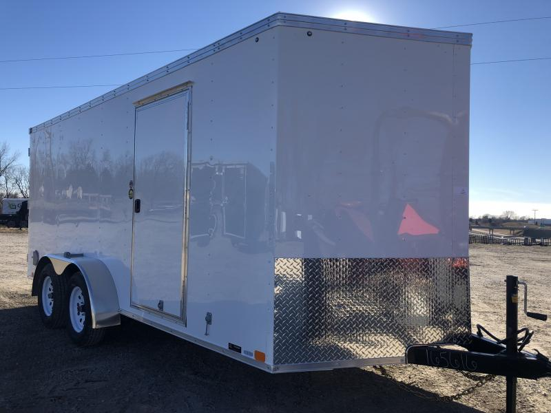 2018 UNITED 7 X 16 X 6 ENCLOSED CARGO TRAILER