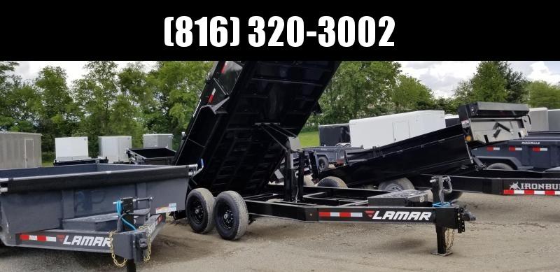 2019 LAMAR 83X14 LOW-PRO BUMPER DUMP