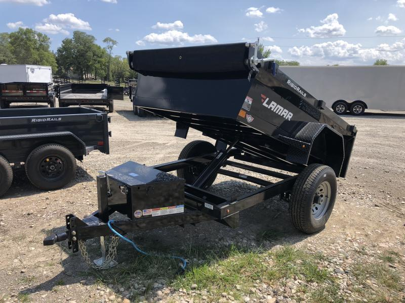 2018 LAMAR 60 X 8 MINI DUMP TRAILER