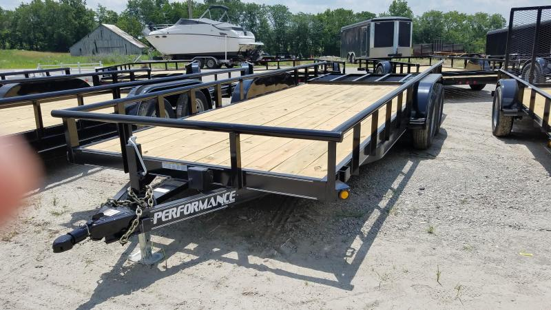 2019 PERFORMANCE 77 X 20 UTILITY TRAILER
