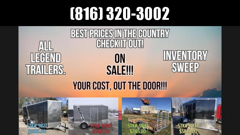 2019 Legend Manufacturing Legend Aluminum Trailers Enclosed Cargo Trailer