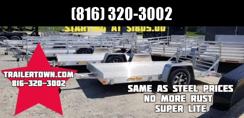 2019 BEAR TRACK 80 X 14 ALL ALUMINUM UTILITY TRAILER