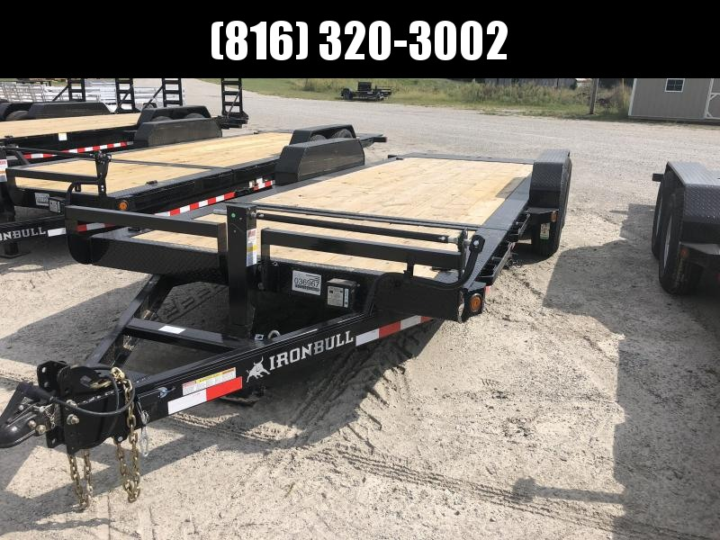 2020 IRON BULL 83X20 TILT LOPRO EQUIPMENT HAULER TRAILER