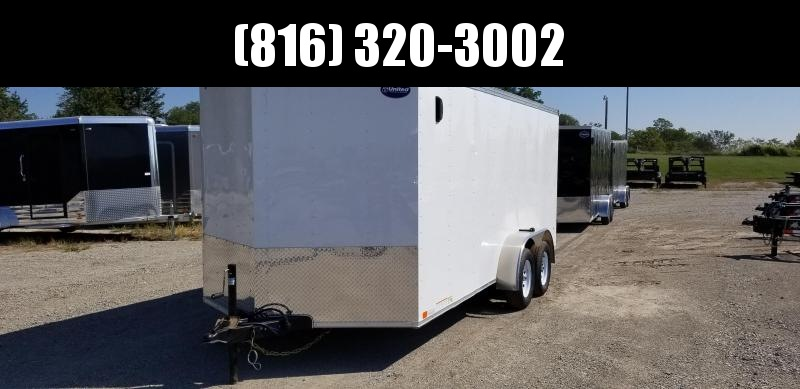 2020 UNITED 7 X 16 X 6 ENCLOSED CARGO TRAILER