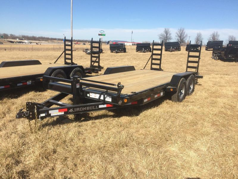 PRICE REDUCED!  CALL AARON AT 913-485-8500 OR 816-320-3002 TO SAVE ON THIS TRAILER!  2017 Iron Bull 83x18 Equipment Hauler