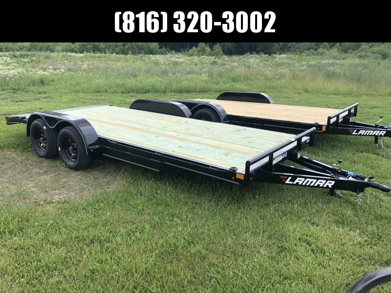2019 LAMAR 83X18 EQUIPMENT TRAILER