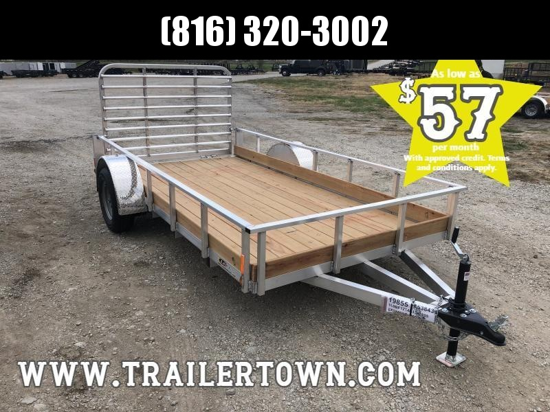 2019 LEGEND 6X12 ALL ALUMINUM UTILITY TRAILER !!PRICE REDUCED!!
