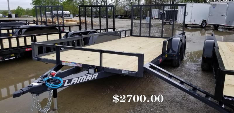2019 LAMAR 83X16 CLASSIC UTILITY TRAILER