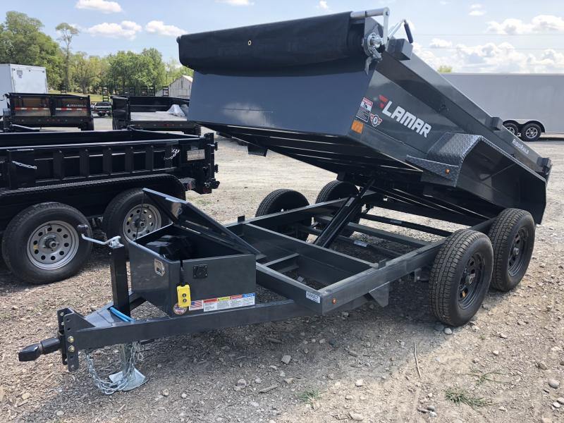 2018 LAMAR 60 X 10 MINI DUMP TRAILER