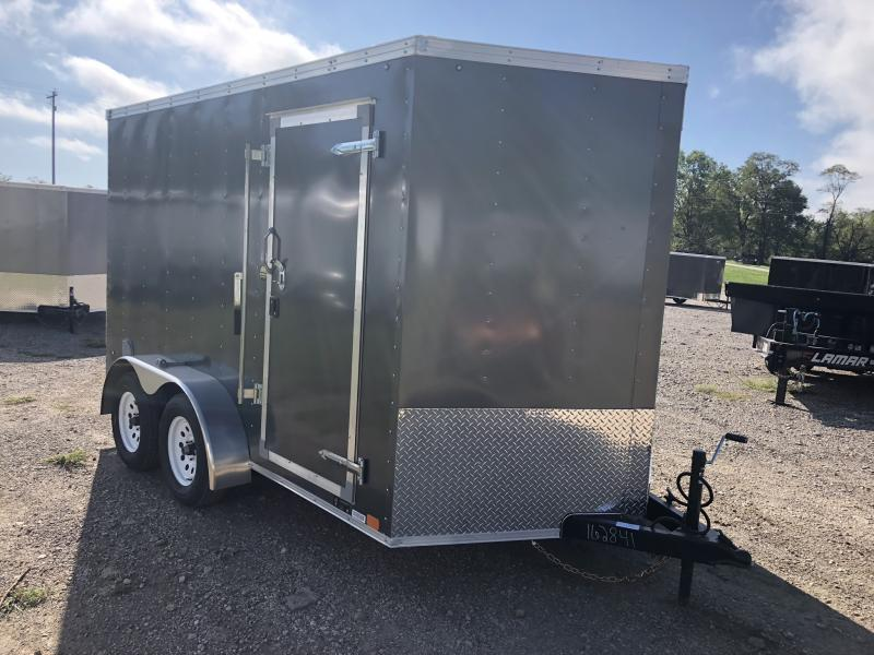 2019 UNITED 7 X 12 X 6.5 ENCLOSED CARGO TRAILER