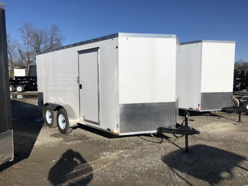 2019 UNITED 7 X 14 X 6 ENCLOSED CARGO TRAILER