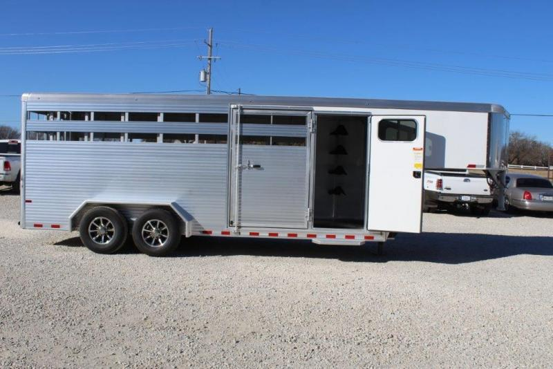 2018 Sundowner 20' Stock/Combo Trailer