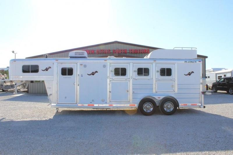 2012 Platinum Coach Living Quarter Horse Trailer