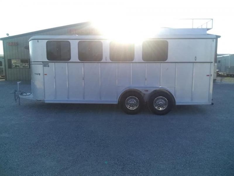2007 Classic Manufacturing Westerner Horse Trailer