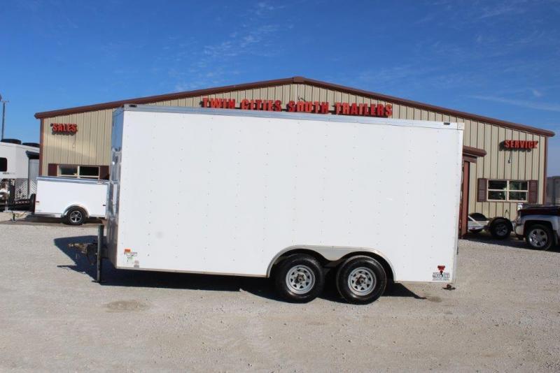 2013 Wells Cargo 8x16 trailer