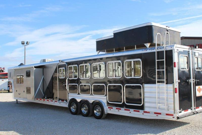 2012 Featherlite 6 horse with 20