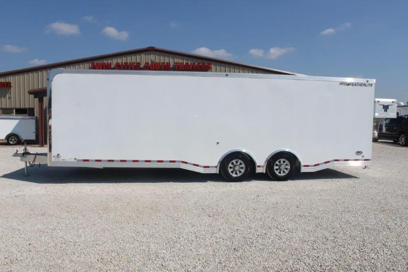 2017 Featherlite 28' Enclosed Car Trailer