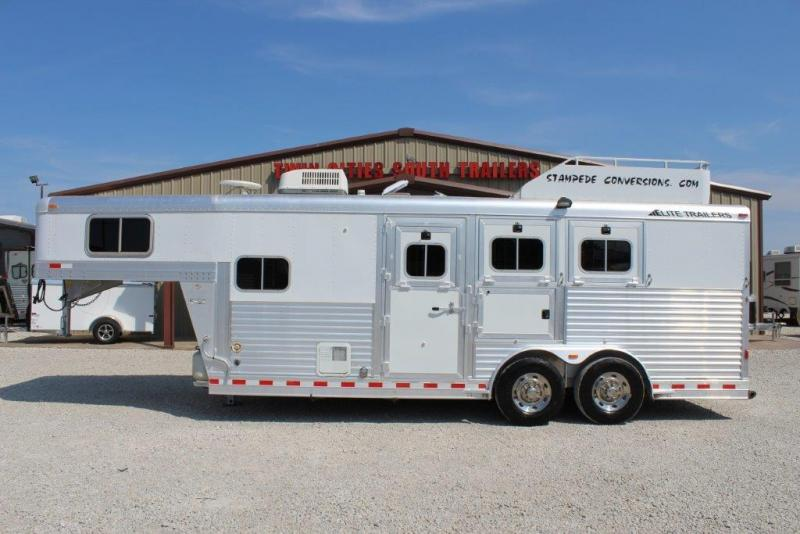 2006 Elite 3 horse gooseneck with 6