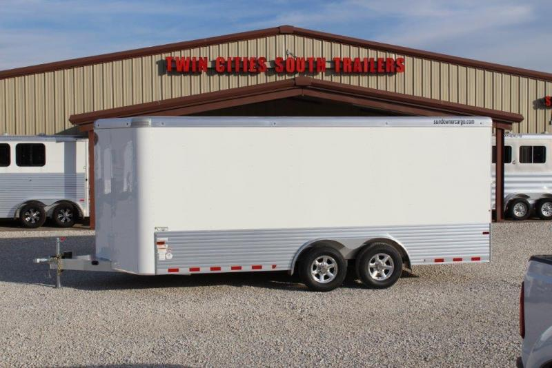 2017 Sundowner Trailers Cargo Enclosed Cargo Trailer