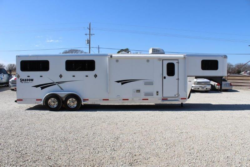 2015 Shadow Trailers Living Quarter Horse Trailer