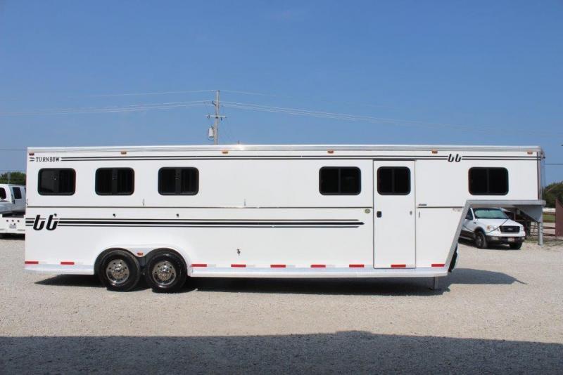 2011 Turnbow 3 horse slant gooseneck