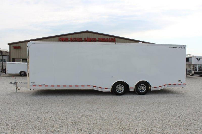 2017 Featherlite Enclosed Car Trailer