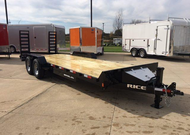 Rice 82 x 22 Magnum Equipment Hauler