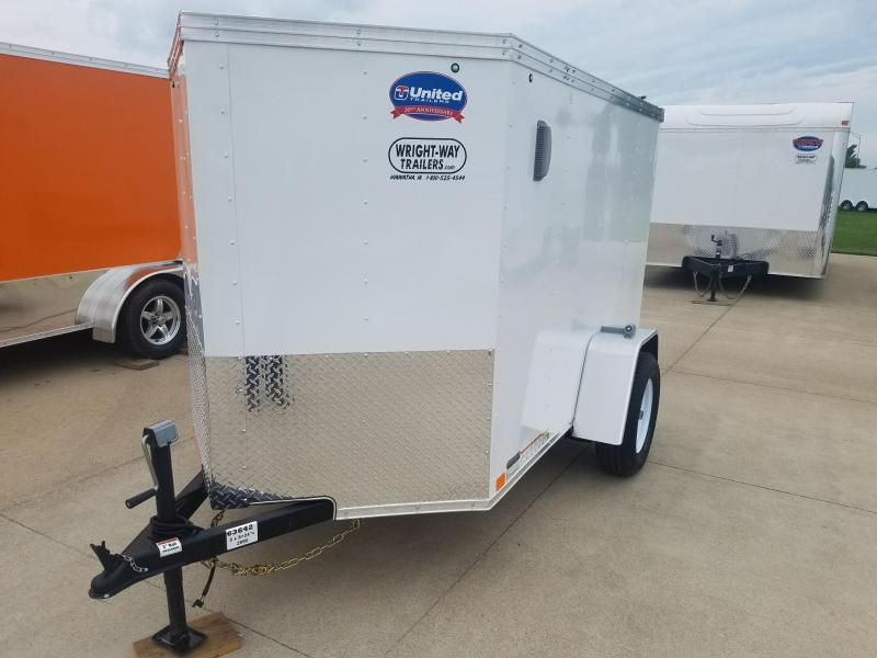 2019 United Trailers XLV 5X8 Enclosed Cargo Trailer