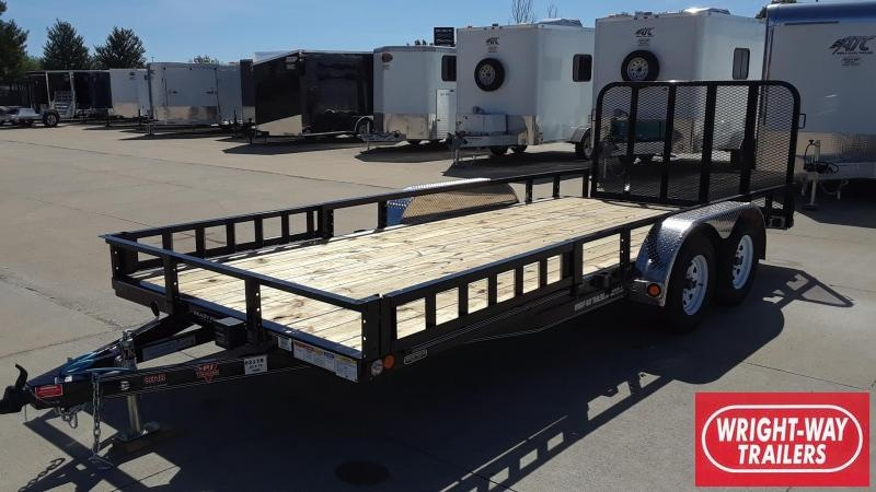 PJ 18' Steel Utility Trailer
