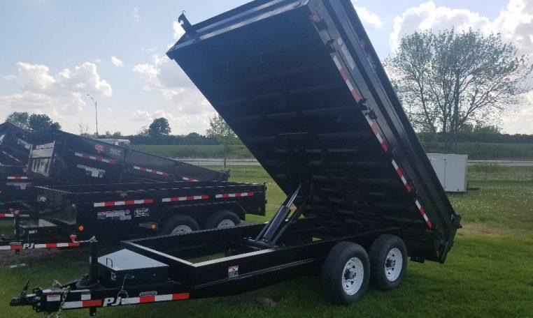 PJ 96 X 14 Deckover Dump Trailer
