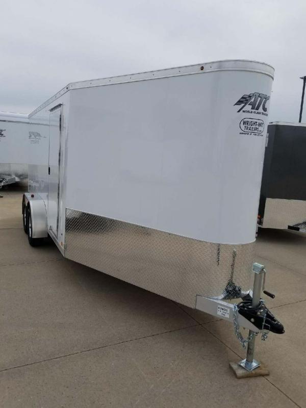 2019 ATC Raven 14' Aluminum Snowmobile Trailer