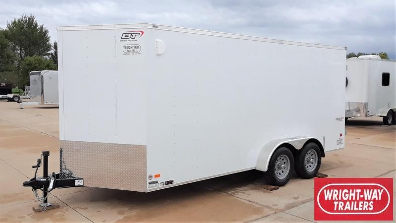 2020 Bravo 7X16 Enclosed Cargo Trailer