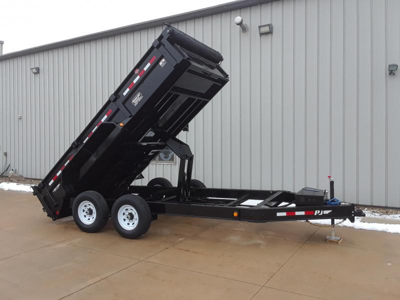 2019 PJ 14' Dump Trailer Drop Axle