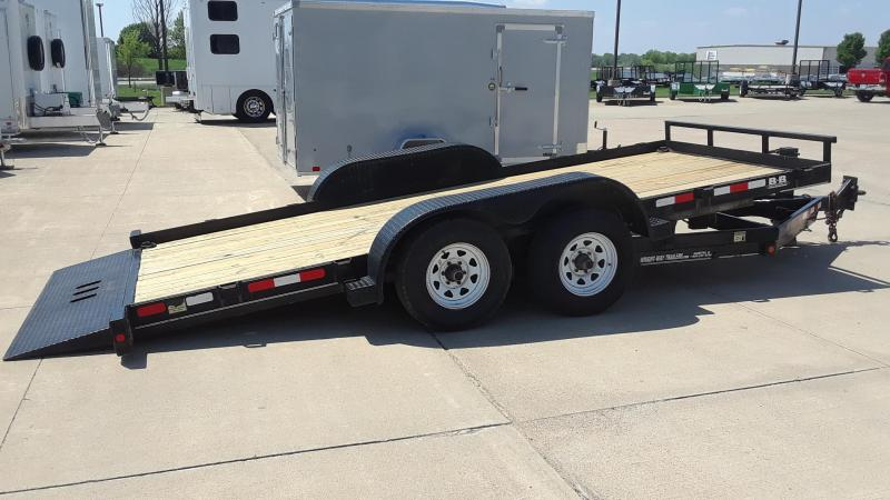 2006 B-B 16' Tilt Equipment Trailer