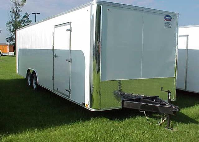 United XLT 8.5 x 28 Enclosed Race Trailer