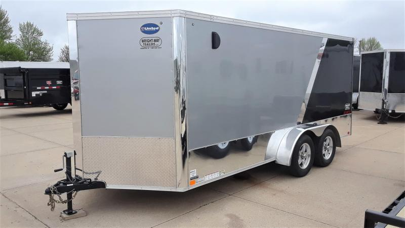 2018 United 7X16 Motorcycle Trailer