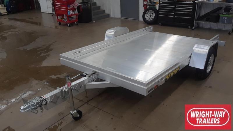2020 Aluma 10' Tilt Aluminum Utility Trailer