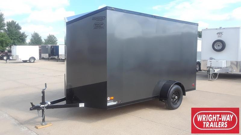 Bravo 6X12 Blackout Enclosed Cargo Trailer