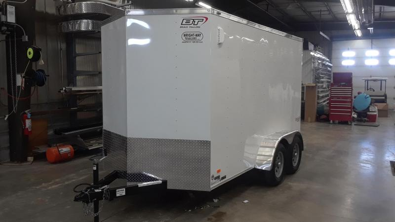2020 Bravo 6X12 V Nose Enclosed Cargo Trailer