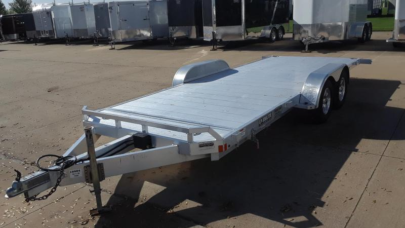 2013 Look 82x20 Car / Racing Tilt Trailer Aluminum